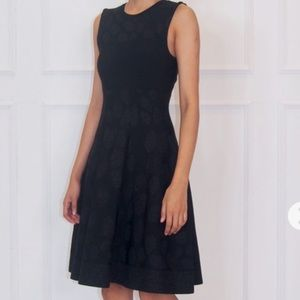 Like New Auth ISSA Black Fit & Flare Dress S